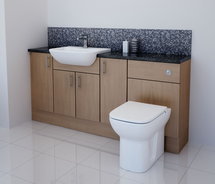 Fitted bathroom units