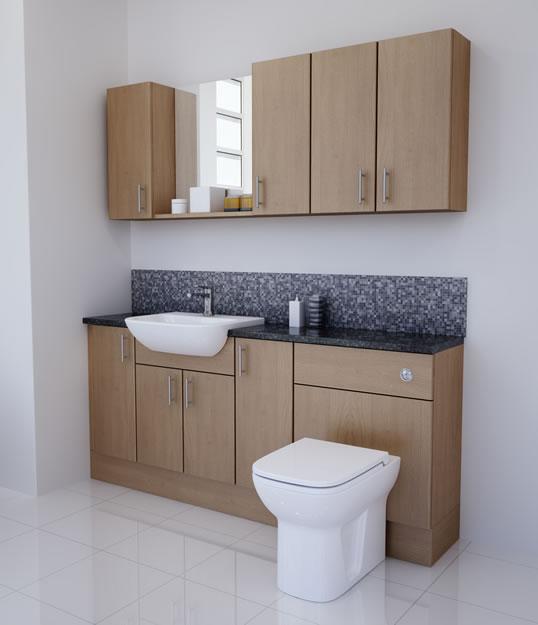 Amazing Mali Oak Fitted Bathroom Furniture Mallard Mallard Bathrooms