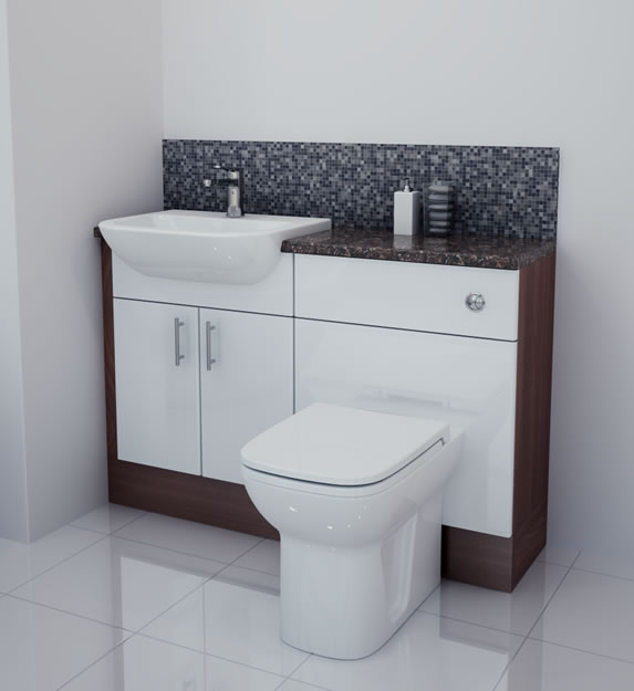 Fitted Bathroom Furniture White Gloss 28 Images