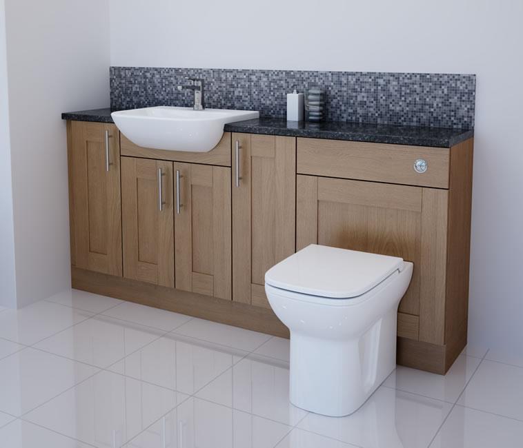 bathcabz bathroom fitted furniture products solid oak 1800mm solid oak furniture run